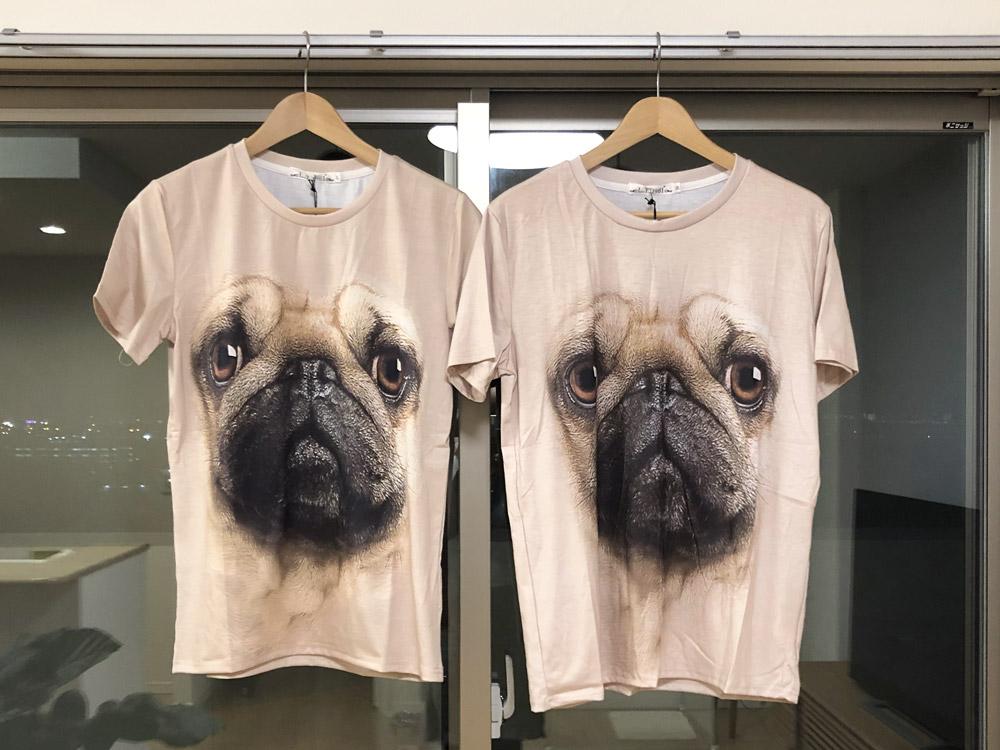 パグTシャツ2枚
